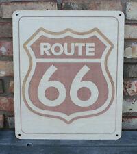 Route 66 Custom Wood Sign