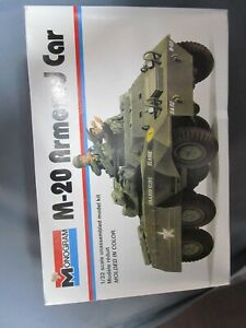 Monogram 4101 M-20 Armoured Car.  Sealed inside.  1/32nd scale.