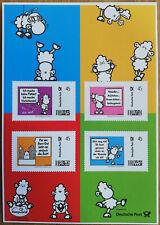"""Briefmarke Individuell, Sonderbogen """"sheepworld"""" 4x 45cent."""