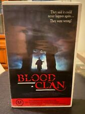 Blood (El) Clan Ex-rental VHS video tape no DVD 1990 cannibal horror Scotland