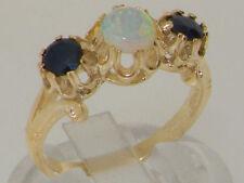 Anniversary Band Natural Round Fine Gemstone Rings