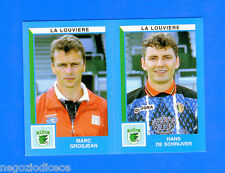 FOOTBALL 2000 BELGIO Panini-Figurina -Sticker n. 448 - LA LOUVIERE -New