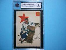 1954/55 PARKHURST NHL HOCKEY CARD #16 HARRY LUMLEY KSA 6 EX/NM SHARP!! PARKIE