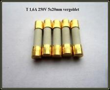 SPT Sicherung Ceramic T 1,6A 250V Träge 5x20mm Feinsicherung Fuse  5 Stück
