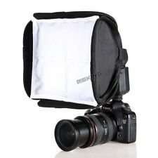 Meking 23x23cm Mini SoftBox For Canon 430EX 580EX II Nikon SB600 SB800 YongNuo