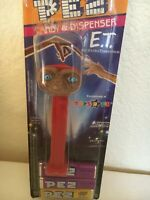 Vintage PEZ E.T Dispenser Toys R Us with feet red stem packaged with candy