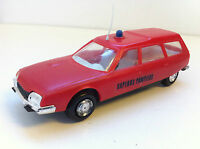Injectaplastic France - Voiture miniature en plastique Citroën CX Break Pompiers