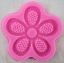 5 Petal Flower Mini Silicone Mold for Fondant, Gum Paste, Chocolate, Crafts NEW
