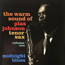 PLAS JOHNSON - THE WARM SOUND OF...  -  MIDNIGHT BLUES  ---  NEUWERTIG