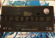 2021 Tarjeta de béisbol de MLB TOPPS INCEPTION Hobby Caja Sellada De Fábrica