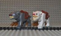 Warg wargpb02c01 wargpb01c01 inkl. 4491b kompatibel zu Lego der Hobbit Set 79002