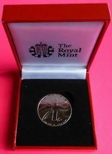 Queen Elizabeth Birthday coin 60 years 1952-2012 coin Diamond Jubilee MINT box