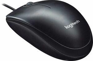 Logitech  M100 Optical Mouse Black