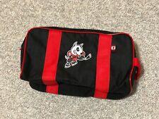 New! 4orte Niagara Ice Dogs OHL Pro Stock Hockey Player Toiletry Travel Kit Bag