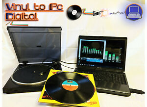 Vinyl Record Player / Recorder Kit - Convert Copy Vinyl LPs Music To PC, MP3's..