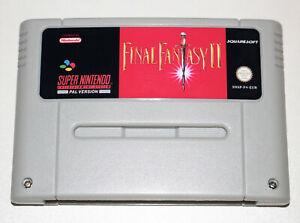 *PAL Version* FINAL FANTASY II 2 English Translation For Super Nintendo SNES