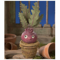 "10.5"" Bethany Lowe Blood Curdling Beet Plant Kitchen Halloween Figurine Decor"