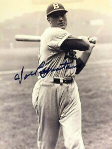 Brooklyn Dodgers Autographed Joe Pignatano Photo - 8x10 COA