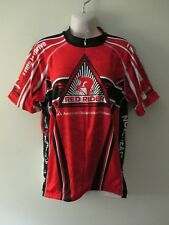 MEN'S PRIMAL WEAR XL RED RIDER CYCLING JERSEY 3/4 ZIP DIABETES NORTHEAST OHIO