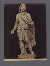 Sculpture greco-roman Paris Pallas Greece Italy 2 Photo Vintage ca 1880