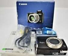 Canon PowerShot SX200 IS 12.1 MP Digital Camera - Black