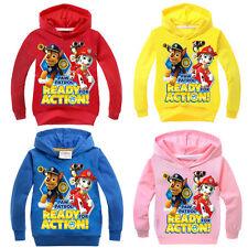 HOT Kids Boys Girls PAW PATROL Hoodies Casual Cartoon SweatShirt Tops Clothes