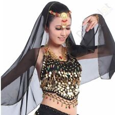 Belly Dance Costumes Bra  Top Bra with Sequins Peppers Beads Bells