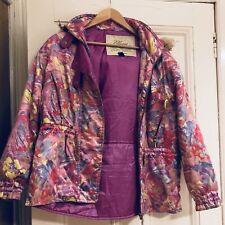 Women's Ellesse Vintage Ski Jacket - Pink - M - Ellesse Italy - Autumnal Jacket