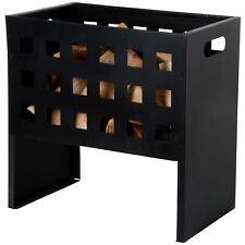 Esschert Panier à Feu Foyer Ouvert Vasque à Rectangulaire Noir Fer 30x50x50cm