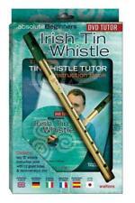 Absolute Beginners Irish Tin Whistle Book/DVD/Instrument