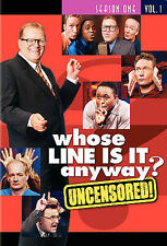 Whose Line is it Anyway - Season 1, Volume 1 (DVD, 2006, Uncensored)