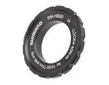 Centerlock Rotor Lock-Ring Shimano SM-HB20 For 15mm / 20mm Through-Axle Hubs