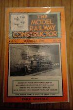Model Railway Constructor Magazine