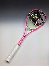 Black Knight Ion X Force Pink Squash Raquet With Bag 145g RF 95 Stiff