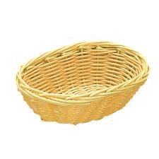 AZ boutique  Corbeille polypropylène | Corbeille à pain ovale 17,8cm x 13cm - po