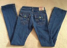 EUC! Womens True Religion Becky Denim Jeans  (Sz 24 ) 99% Cotton 1% Spandex