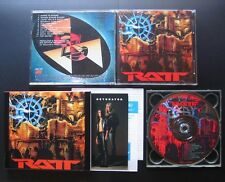 RATT Detonator 1990 JAPAN LTD BOX AMZY-122 OOP Stephen Pearcy Warren DeMartini