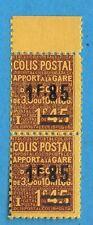 Colis postaux N°:119- PAIRE neufs**-- A VOIR  ! Cote :35 €