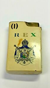 REX LIGHTER WITH MUSIC NEEDS REPAIR NEW ORLEANS MARDI GRAS KREWE MGS608