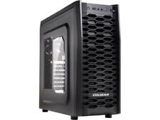 COUGAR MX300 Black Steel ATX Mid Tower Computer Case with 1 x 12cm COUGAR TURBIN