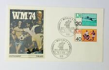 1974 FIFA World Cup West Germany WM 74 FDC & Stamps