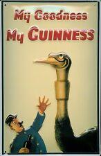 Guinness big Birt Blechschild Schild 3D geprägt gewölbt Tin Sign 20 x 30 cm