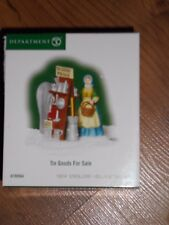 Dept 56 New England Village Accessory Tin Goods For Sale Nib