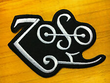 LED ZEPPELIN VINTAGE ROCK BAND Embroidered Easy Iron On Patch #01