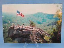 "COOL PHOTO of "" CHIMNEY ROCK "" in North Carolina  ( VERY NICE ) Postcard"