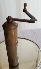 Antique Brass Nut Meg Grinder