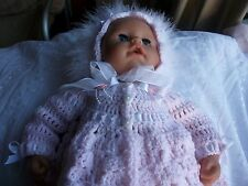 "Crochet pattern, for 18"" baby doll Annabelle, Chou chou and Daisy may dolls."