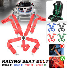 3'' 5 Point Sport Racing Style Harness Safety Seat Belt Camlock Quick Release