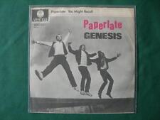 "GENESIS-""PAPERLATE"" RARE 7""  GERMANY FIRST PRESSING 1982 GERMAN"