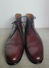 Paul Evans Marrone Newman Chukka Boots Size 6. (US.7) Preowned.